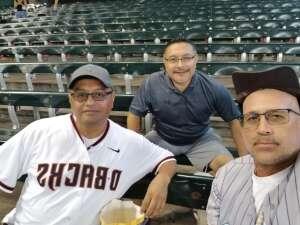 Enrique D attended Arizona Diamondbacks vs. San Diego Padres - MLB on Sep 1st 2021 via VetTix