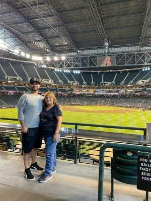 Kev attended Arizona Diamondbacks vs. San Diego Padres - MLB on Sep 1st 2021 via VetTix