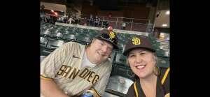 Brent Larson attended Arizona Diamondbacks vs. San Diego Padres - MLB on Sep 1st 2021 via VetTix