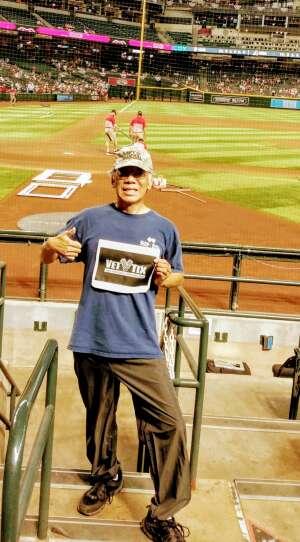 William attended Arizona Diamondbacks vs. San Diego Padres - MLB on Sep 1st 2021 via VetTix