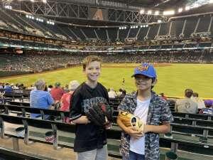 Mike H. attended Arizona Diamondbacks vs. San Diego Padres - MLB on Sep 1st 2021 via VetTix