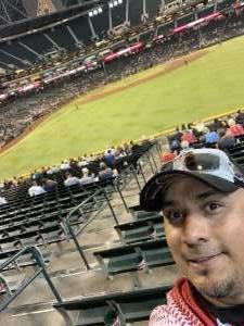 Bears attended Arizona Diamondbacks vs. San Diego Padres - MLB on Sep 1st 2021 via VetTix