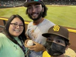 Eddie Montoya attended Arizona Diamondbacks vs. San Diego Padres - MLB on Sep 1st 2021 via VetTix