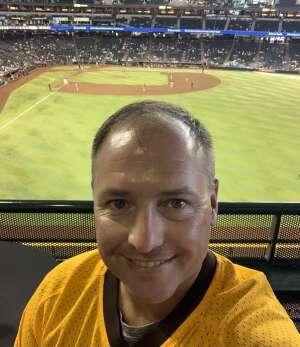 Jason De Luigi attended Arizona Diamondbacks vs. San Diego Padres - MLB on Sep 1st 2021 via VetTix