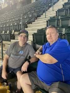 Nax attended Arizona Diamondbacks vs. San Diego Padres - MLB on Sep 1st 2021 via VetTix