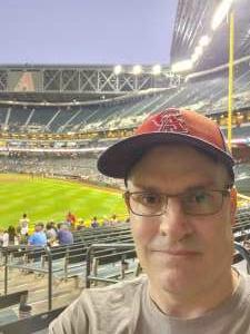 William attended Arizona Diamondbacks vs. Atlanta Braves - MLB on Sep 20th 2021 via VetTix