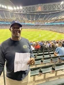 Richard St. Rose attended Arizona Diamondbacks vs. Atlanta Braves - MLB on Sep 20th 2021 via VetTix