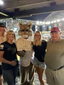 Ronald Skin in Mesa, AZ attended Arizona Diamondbacks vs. Atlanta Braves - MLB on Sep 20th 2021 via VetTix