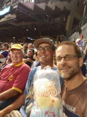 Marty attended Arizona Diamondbacks vs. Atlanta Braves - MLB on Sep 20th 2021 via VetTix