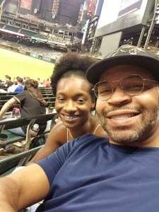 Kreative Konqueror attended Arizona Diamondbacks vs. Atlanta Braves - MLB on Sep 20th 2021 via VetTix