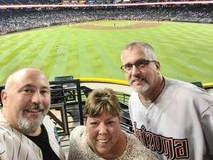 Tom attended Arizona Diamondbacks vs. Atlanta Braves - MLB on Sep 20th 2021 via VetTix