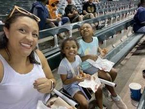 Angie attended Arizona Diamondbacks vs. Atlanta Braves - MLB on Sep 20th 2021 via VetTix