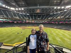 Martin attended Arizona Diamondbacks vs. Atlanta Braves - MLB on Sep 20th 2021 via VetTix