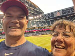 Mike attended Arizona Diamondbacks vs. Atlanta Braves - MLB on Sep 20th 2021 via VetTix