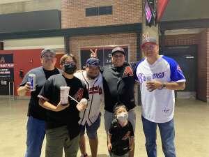 Jhen attended Arizona Diamondbacks vs. Atlanta Braves - MLB on Sep 20th 2021 via VetTix