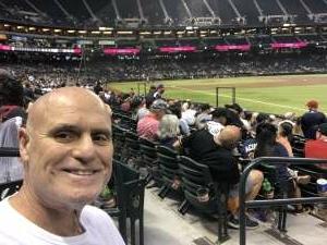 Tibor attended Arizona Diamondbacks vs. Atlanta Braves - MLB on Sep 20th 2021 via VetTix