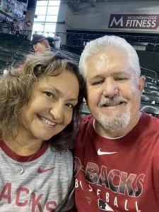 Michael  attended Arizona Diamondbacks vs. Atlanta Braves - MLB on Sep 23rd 2021 via VetTix