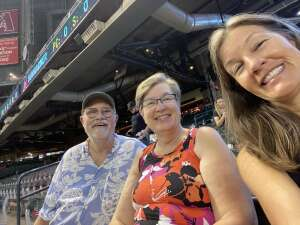 Julia attended Arizona Diamondbacks vs. Atlanta Braves - MLB on Sep 23rd 2021 via VetTix