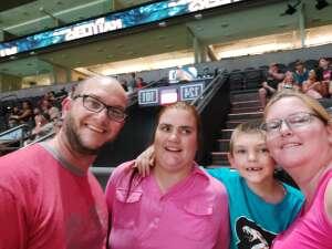 Jessica  attended Arizona Rattlers vs. Spokane Shock - IFL on Jun 25th 2021 via VetTix