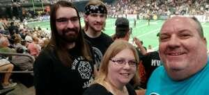 Don attended Arizona Rattlers vs. Spokane Shock - IFL on Jun 25th 2021 via VetTix