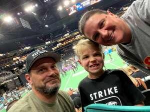 Ben Andree attended Arizona Rattlers vs. Spokane Shock - IFL on Jun 25th 2021 via VetTix