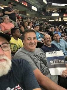 Greg  attended Arizona Rattlers vs. Spokane Shock - IFL on Jun 25th 2021 via VetTix