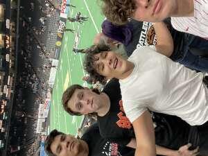 Jason Leon attended Arizona Rattlers vs. Spokane Shock - IFL on Jun 25th 2021 via VetTix