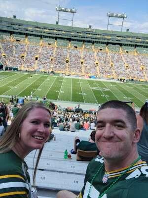 James attended Green Bay Packers vs. New York Jets - NFL Preseason on Aug 21st 2021 via VetTix