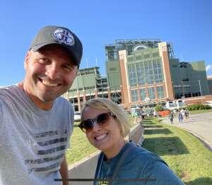 Tom K attended Green Bay Packers vs. New York Jets - NFL Preseason on Aug 21st 2021 via VetTix