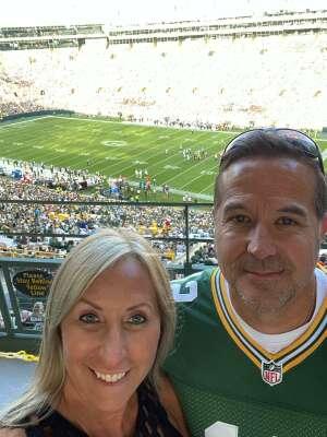 B.M. attended Green Bay Packers vs. New York Jets - NFL Preseason on Aug 21st 2021 via VetTix