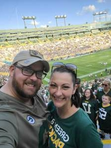 Eric Mattos attended Green Bay Packers vs. New York Jets - NFL Preseason on Aug 21st 2021 via VetTix