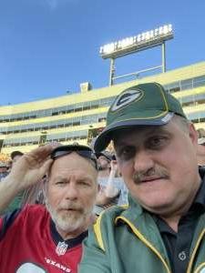 Dale  attended Green Bay Packers vs. New York Jets - NFL Preseason on Aug 21st 2021 via VetTix