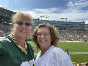 LG attended Green Bay Packers vs. New York Jets - NFL Preseason on Aug 21st 2021 via VetTix