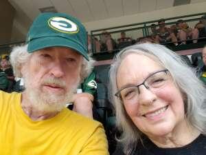 James Rollins attended Green Bay Packers vs. New York Jets - NFL Preseason on Aug 21st 2021 via VetTix