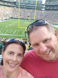 Tom Fischer attended Green Bay Packers vs. New York Jets - NFL Preseason on Aug 21st 2021 via VetTix