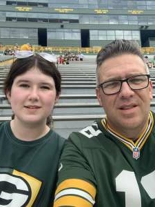 Scott attended Green Bay Packers vs. New York Jets - NFL Preseason on Aug 21st 2021 via VetTix