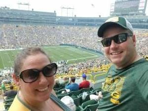 Kevin R attended Green Bay Packers vs. New York Jets - NFL Preseason on Aug 21st 2021 via VetTix