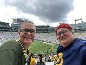 Elaine attended Green Bay Packers vs. New York Jets - NFL Preseason on Aug 21st 2021 via VetTix