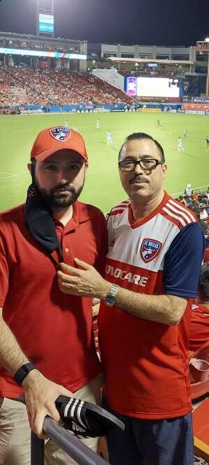 Amadeo attended FC Dallas vs. New England Revolution - MLS on Jun 27th 2021 via VetTix