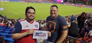 Fabian attended FC Dallas vs. New England Revolution - MLS on Jun 27th 2021 via VetTix