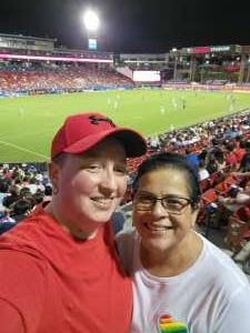 Stephanie Giles attended FC Dallas vs. New England Revolution - MLS on Jun 27th 2021 via VetTix