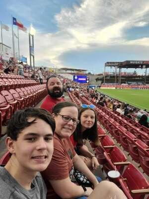 John Kerr attended FC Dallas vs. New England Revolution - MLS on Jun 27th 2021 via VetTix