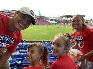 Camilo attended FC Dallas vs. New England Revolution - MLS on Jun 27th 2021 via VetTix