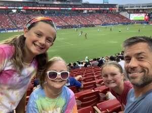 J.R. Sharp attended FC Dallas vs. New England Revolution - MLS on Jun 27th 2021 via VetTix