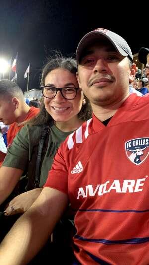 Paulo attended FC Dallas vs. New England Revolution - MLS on Jun 27th 2021 via VetTix