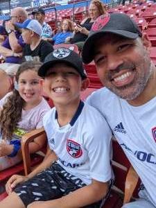 Humberto attended FC Dallas vs. New England Revolution - MLS on Jun 27th 2021 via VetTix