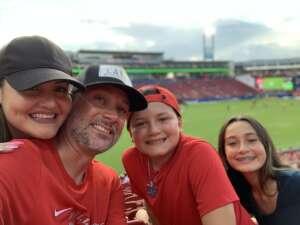 Jose Perez attended FC Dallas vs. New England Revolution - MLS on Jun 27th 2021 via VetTix