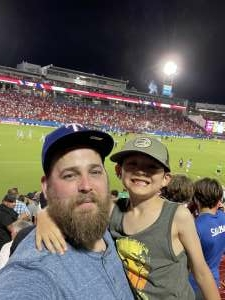 Matthew attended FC Dallas vs. New England Revolution - MLS on Jun 27th 2021 via VetTix