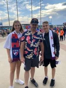 Sam Smith  attended FC Dallas vs. New England Revolution - MLS on Jun 27th 2021 via VetTix