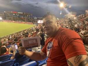 Vicente Masga attended FC Dallas vs. New England Revolution - MLS on Jun 27th 2021 via VetTix